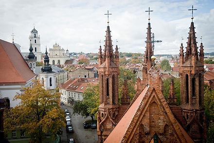 travel tours to Vilnius