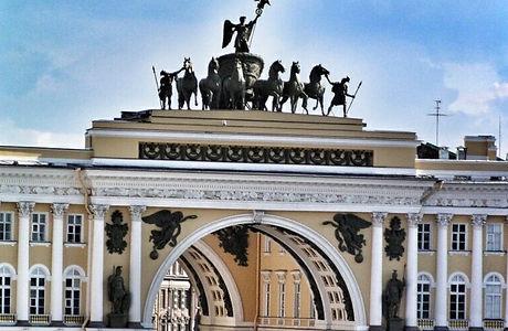 Secret treasures of St. Petersburg