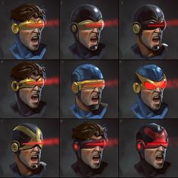 Cyclops mask designs