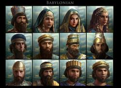 Babylonian costume design
