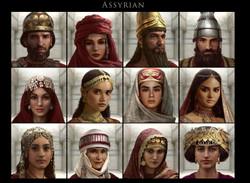 Assyrian  costume design