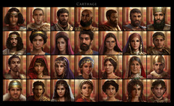 Carthage costume design