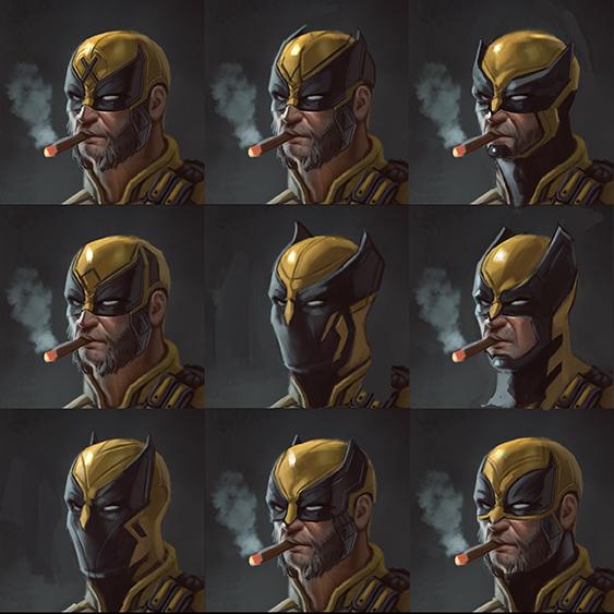 Wolverine mask design