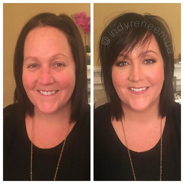 My gift to this badass #bmx girl was a birthday makeover! ❤️😍🔥🥇🚴🏻♀️ #indy #indymua #qwayns 👑 #westfieldindiana #indianapolis #indianapolism