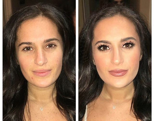 Thank you _brooke_michele_g !!! 😘You're so naturally beautiful before but, guuurl, you are stunning after!!😍I ❤️ doing your makeup!!! #indym