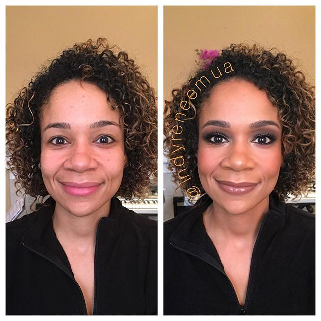This beauty _eve_fitchick is doing a sexy #boudoirshoot today! #hautemama #peoplemagazine #halftheirsize #halfhersize #indymua #indymakeupar