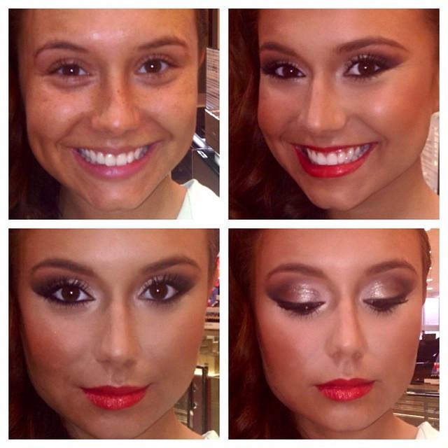 #closeup #beforeandafter #wedding #indybride #indianapoliswedding #indianabrides #makeover #makeupmagic #makeup #Indianapolis #indy #flawles