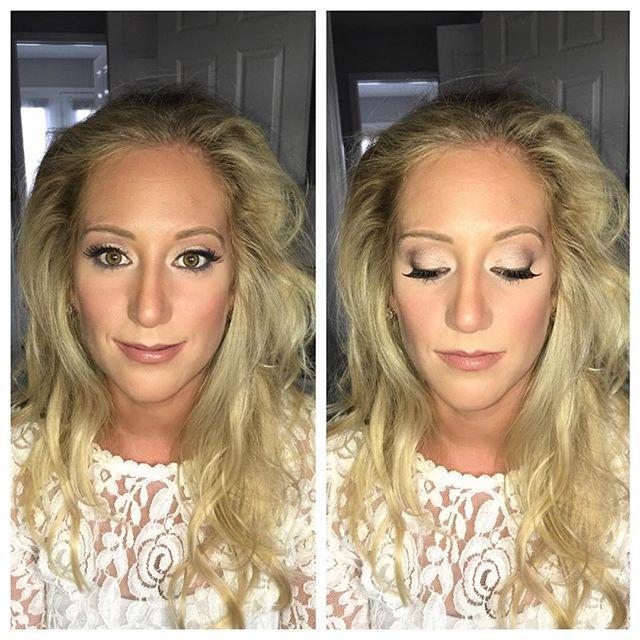 Makeup by me 💜 #indybride #indywedding #indymua #indy #indianapolis #mua #makeup #makeover #indy #bridalmakeup #reneeslays #slaybyrenee