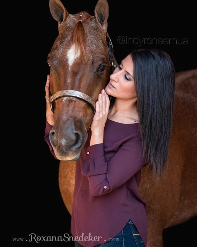 """Stunning photo by _roxanasnedekerphotography 📸 for my girl _brittney.noelle and her handsome horse, """"Bob"""".jpg"""