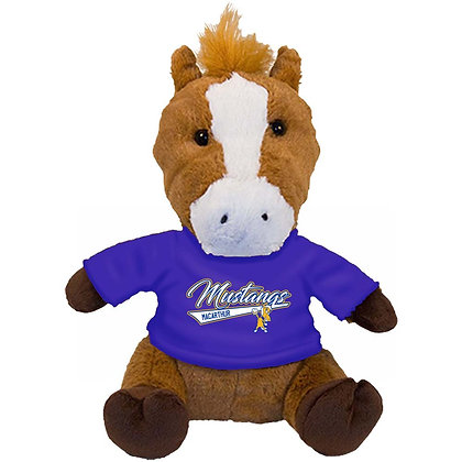 "10"" Plush Mustang With Tee Shirt"