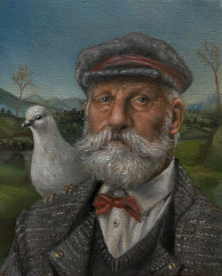 The pigeon keeper