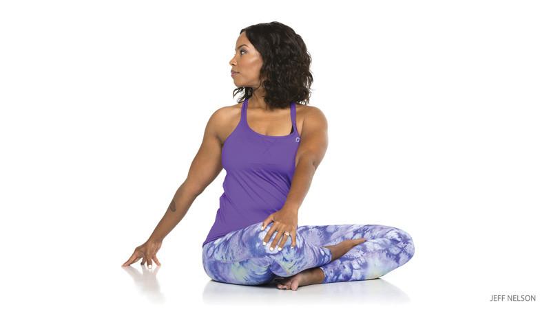 Seated Spinal Twist - Ardha Matsyendrasana