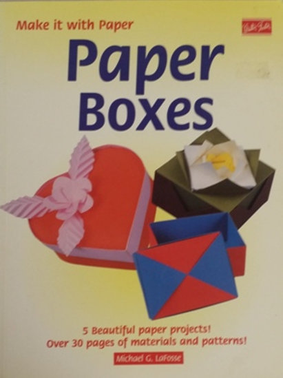 Paper Boxes Book