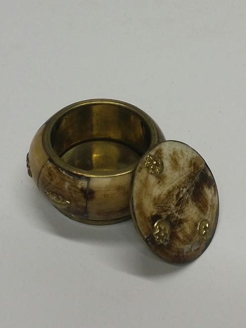Gold and Tan Treasure Box