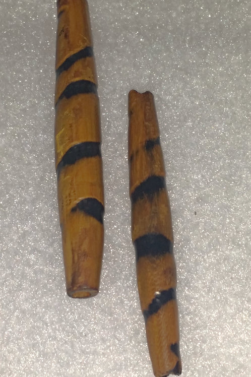 Wooden Tiger Beads