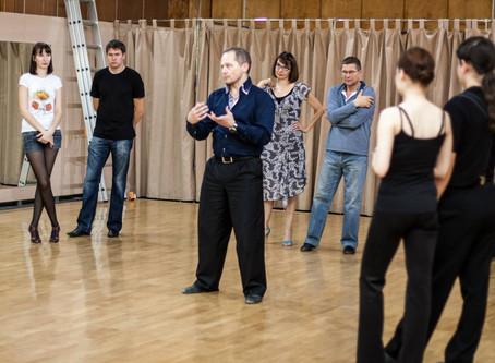 Ещё раз о технике танго..