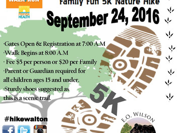 Family Fun 5K Hike
