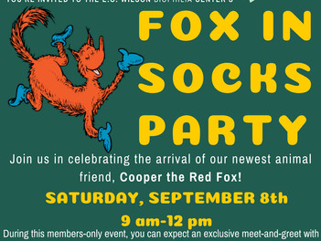 Fox in Socks Party