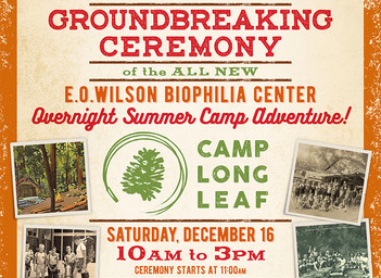 Camp Longleaf Groundbreaking Celebration