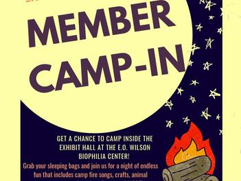 Member Camp-In