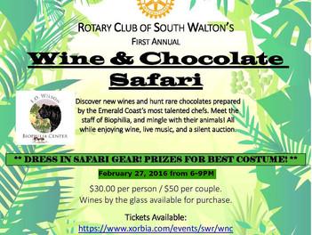 Wine & Chocolate Safari