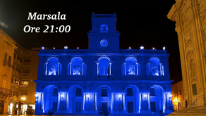 Il Palazzo VII Aprile sarà illuminato di Blu