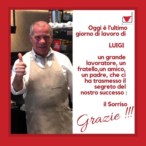 Luigi Cialona va in pensione