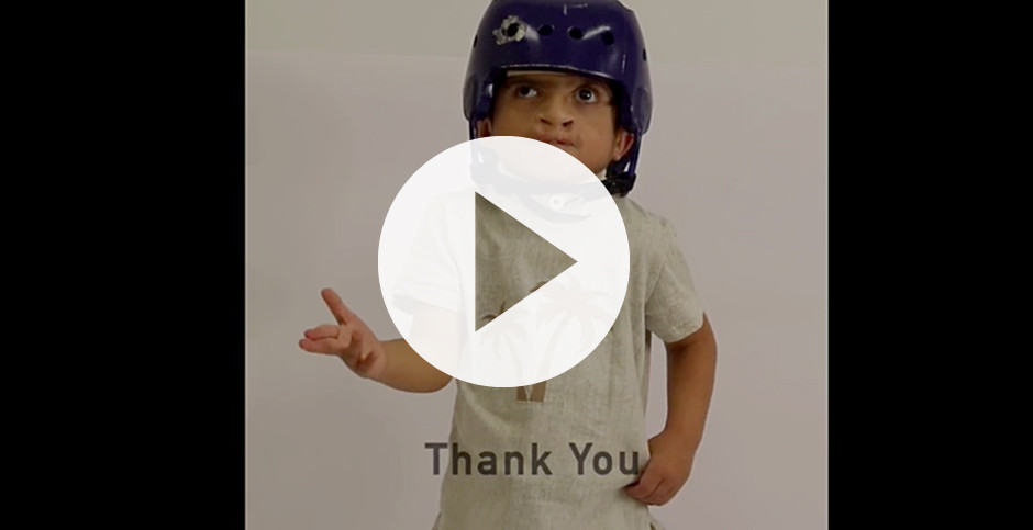 Thank You Video (video with sound effects, music, and dialogue)