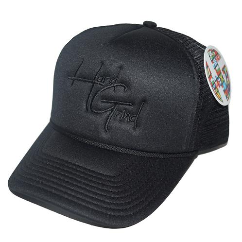 HG Trucker Hat - Black/Black