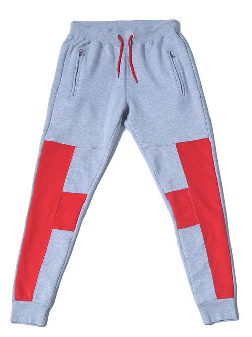 Mens HG Signature Jogger - Grey/Red