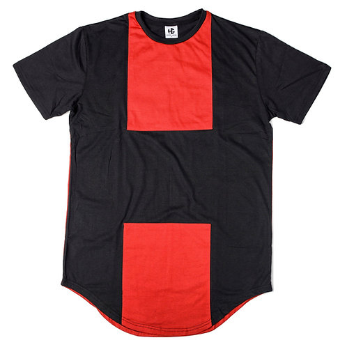Mens HG T Shirt - Black/Red -