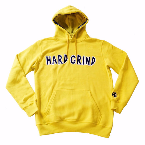 Mens HG Classic Pullover Hoodie - Yellow/Black/White