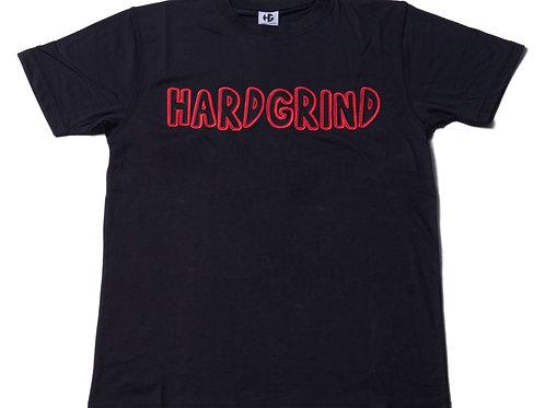 Mens HG Classic T Shirt - Black/Black/Red