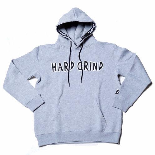 Mens HG Classic Pullover Hoodie - Light Grey/Black/White