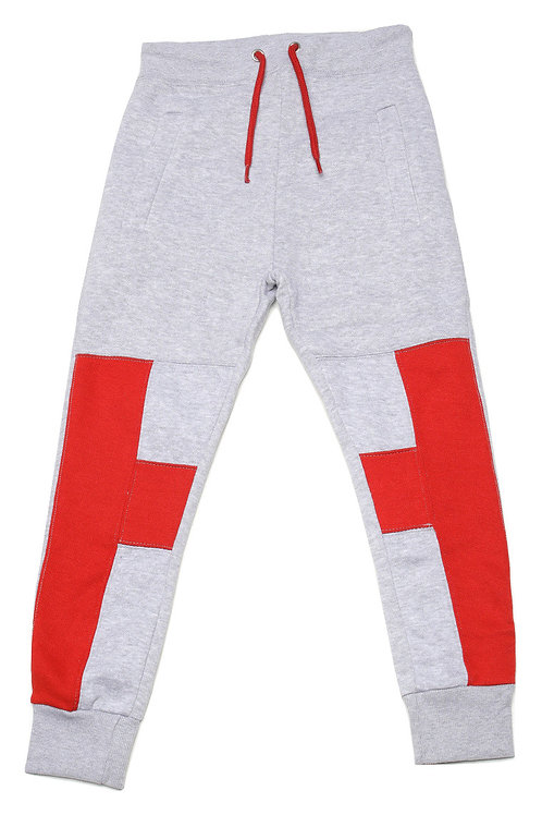 Youth HG Signature Jogger -Grey/Red