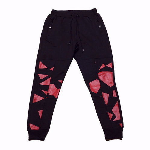 Mens HG Signature Jogger - Black/Red
