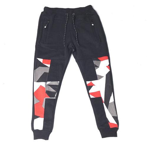 HG Signature Camo Jogger - Black/Red/Grey