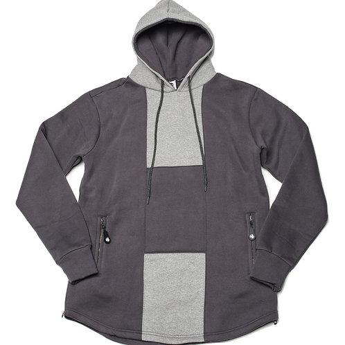 HG Signature Hoodie - Dark Grey/Grey (1of 1 Sample)