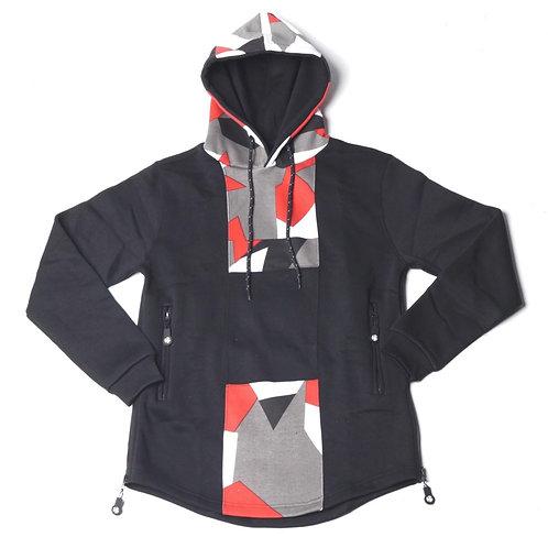 HG Signature Camo Hoodie - Black/Red/Grey