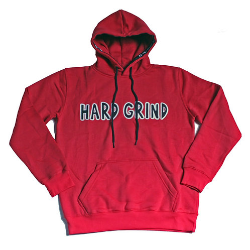 Mens HG Classic Pullover Hoodie - Red/Black/White (Chicago Vol.2)