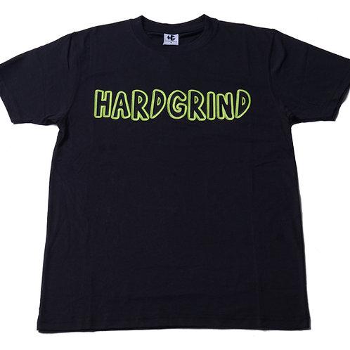 Mens HG Classic T Shirt - Black/Black/Neon Green