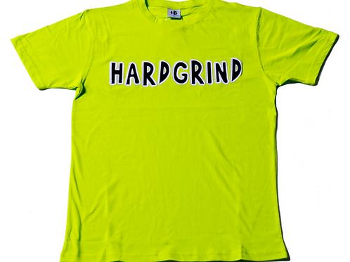 Mens HG Classic T Shirt - Lime Green/Black/White