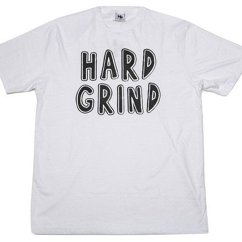 HG Stamped T Shirt - White/Black