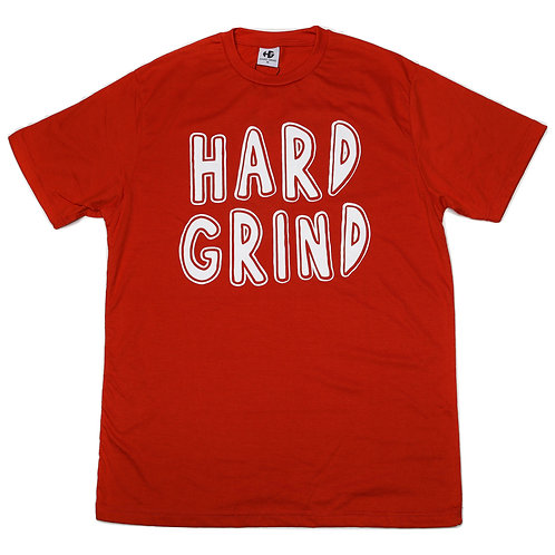 HG Stamped T Shirt - Red/White