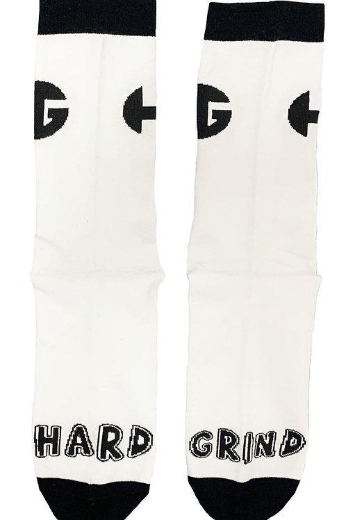 HG Signature Socks - White/Black