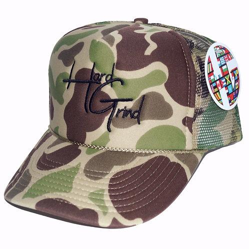 HG Trucker Hat - Camo/Black
