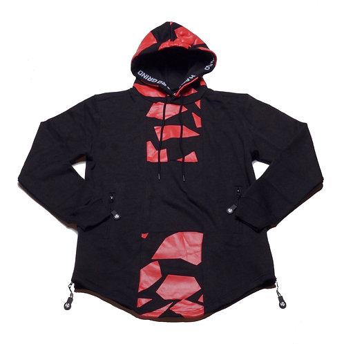 Mens HG Signature Hoodie - Black/Red