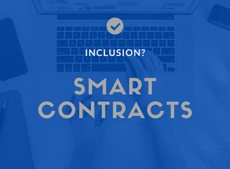 Will smart contracts usher in a new wave of financial inclusion?