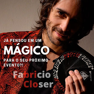 Magico Ilusionsita Fabricio Closer - Festas e Eventos