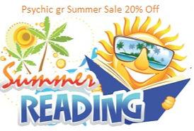 Psychic gr 20% Summer Sale